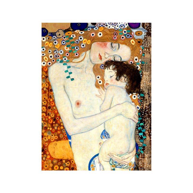 אשה וילד Gustav Klimt