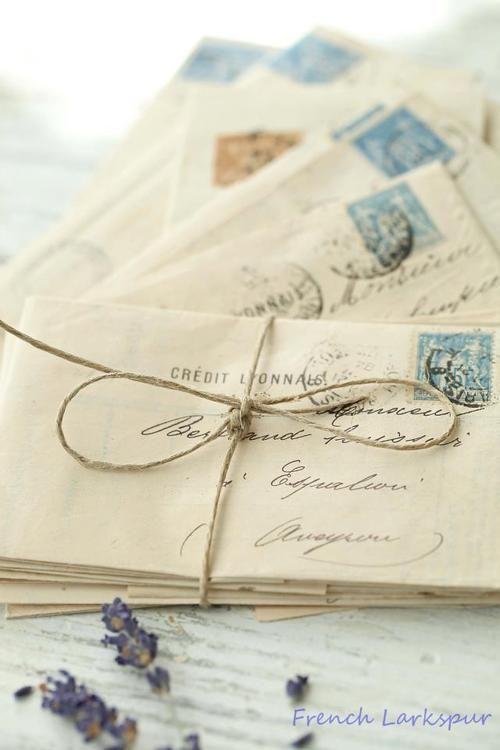 מכתבים מתוך אתר Pinterest